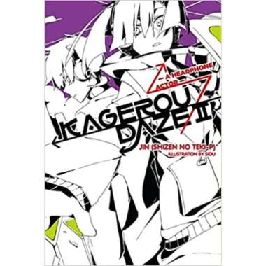 harga Kagerou Daze, Vol. 2 (light novel) : A Headphone Actor - 9780316342049 Blibli.com