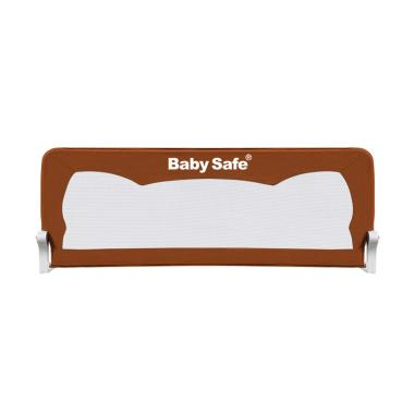 Baby Safe Bedrail Pagar Kasur Anak - Brown [180 cm]