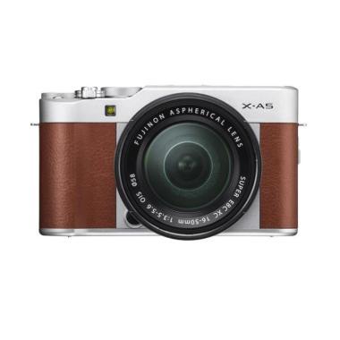 Promo Merdeka!! Fujifilm X-A5 XA5 1 ... rui Bag FUJISHOPid- Brown