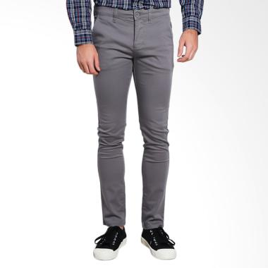3SECOND Men Pants Celana Panjang Pria - Grey [1.02.05.17.13]