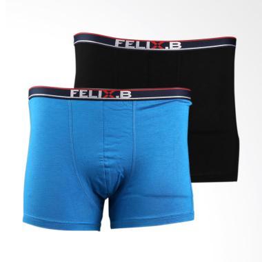 Felix.B Shorty 2 in 1 Pakaian Dalam Pria - Mix Colour [FB121013-21]