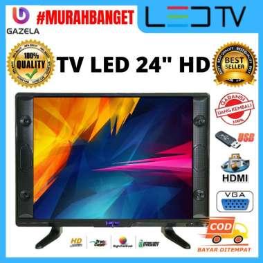harga TV Gazela 24 inch Televisi murah HD (GZL24Q) garansi 12 bulan Blibli.com