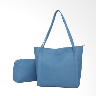 Lorica by Elizabeth Desiree Tote Bag Wanita - Biru