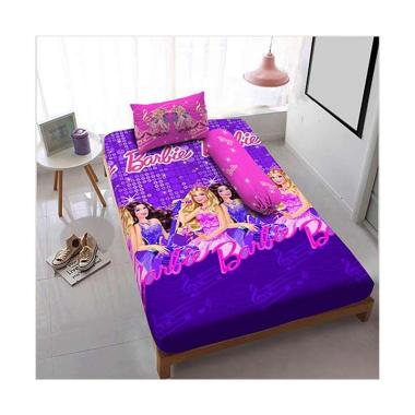 Kintakun Sprei D'luxe  - 120 x 200 (Single) - Barbie Pop Star