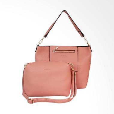Bellezza 61496-01 Ladies Shoulder Bag - Dark Pink