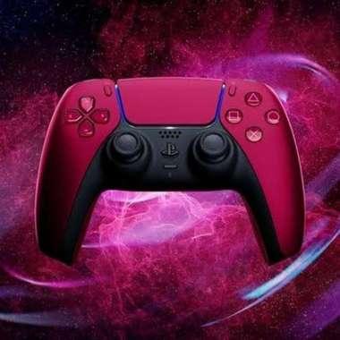 harga PS5 Dual Sense Controller - PS5 DualSense - Stik PS5 Cosmic Red - Asia Blibli.com