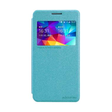 Nillkin Sparkle Leather Flip Cover Casing for Samsung Galaxy Grand Prime G5308W - Blue