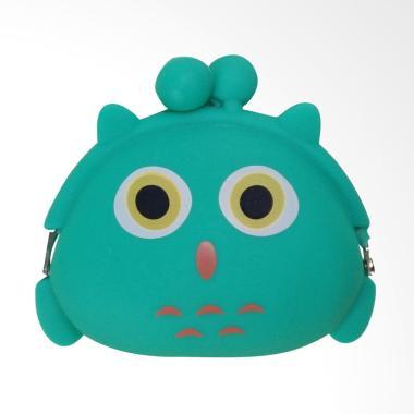 KarnaKamu Silicone Jelly Karakter Imut Owl Dompet Koin