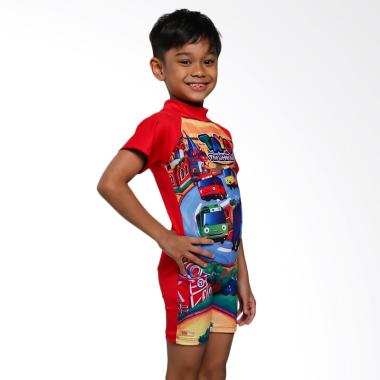 Ben's Collection Tayo Baju Renang Anak - Red