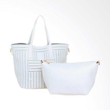 Lorica by Elizabeth Gardenia Hand Bag - Putih