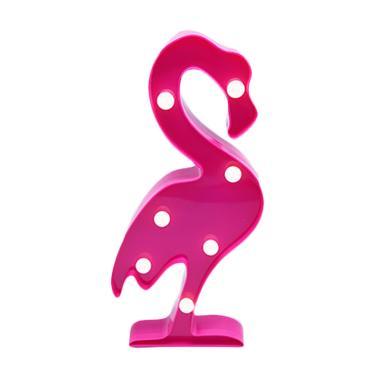 JYSK Grins And Giggles Flamingo Marquee Deco Lampu Dekorasi