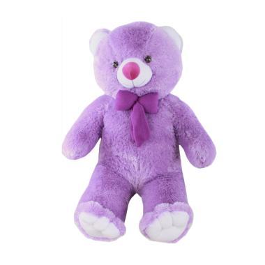 TeddyBearKu Boneka Teddy Bear - Ungu  Jumbo 1 Meter  ac75f4763a
