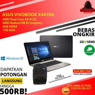 harga Laptop ASUS VivoBook X441BA AMD A4-9125 4GB 1TB UMA Windows 10. Bundle HS A Blibli.com