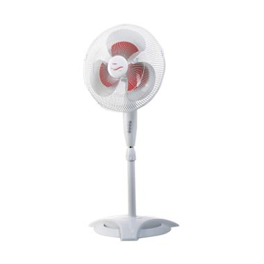 Turbo CFR 3086 Stand Fan - White [16 Inch]