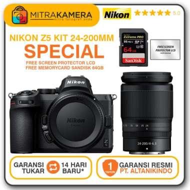 harga Nikon Z 5 Mirrorless Digital Kamera Kit 24-200mm Blibli.com