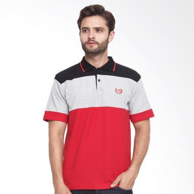 CBR Six Wangky Kaos Polo Pria - Merah Kom [FFC 270]