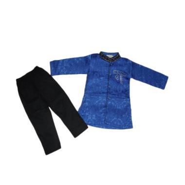 VERINA BABY Setelan Baju Koko Anak - Biru