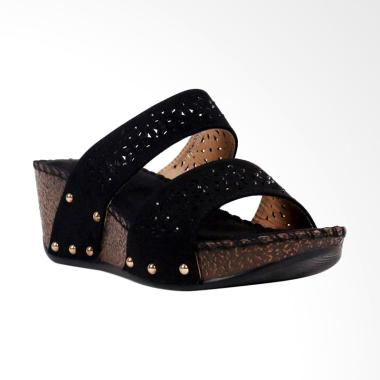 Bettina Baylie Sandal Wanita - Black