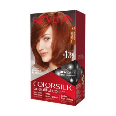 Revlon Colorsilk Hair Color Cat Rambut - Medium Auburn 42