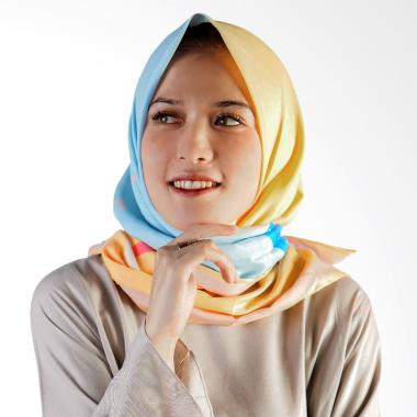 Miranti Scarf Jilbab - Blue Yellow