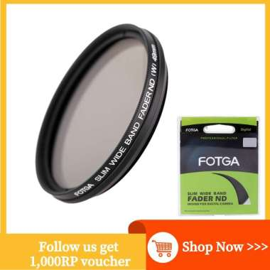 harga FLY FOTGA Filter ND Slim Fader 49mm Adjustable Neutral Density ND2 to ND400 Neutral Density ND Blibli.com