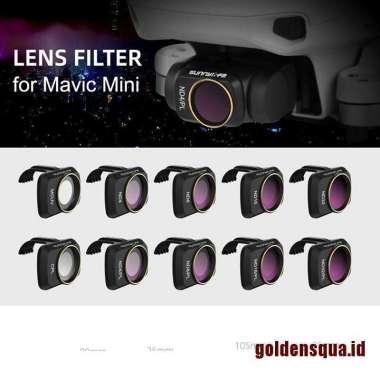 harga Golden Mavic Mini 2 Gimbal Kamera Mcuv Cpl Nd-Pl Filter Lensa Untuk Dji Mavic Mini Blibli.com