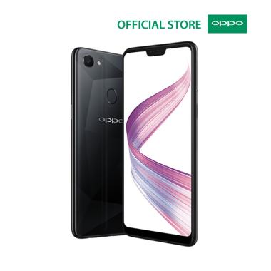 OPPO F7 Smatphone - Diamond Black [64GB/ 4GB]