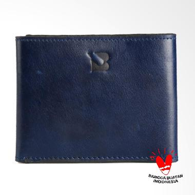 BLANKENHEIM Original Leather Dompet Pria - Navy Blue