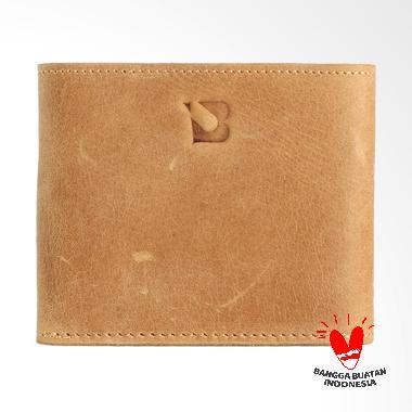 BLANKENHEIM Original Leather Dompet Pria - Olive Brown