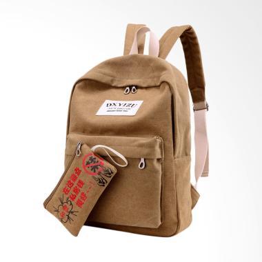 ... Martin Versa Tas TRW5 Backpack impor import Ransel Wanita Kanvas Hitam Source MartinVersa TRW18 Backpack Tas