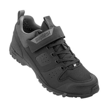 Suplest Offroad Sport MTB Shoes Sepatu Sepeda - Black