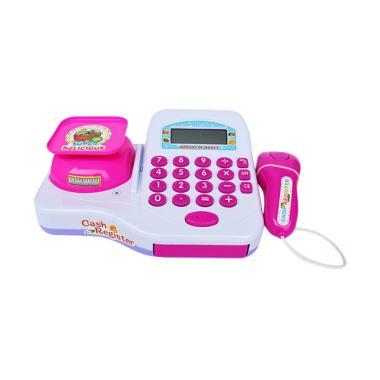 Yoyo 66049 Cash Register Mainan Anak - Pink