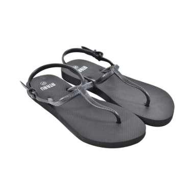 harga Ataru ukuran 37 sandal wanita t strap - hitam Blibli.com