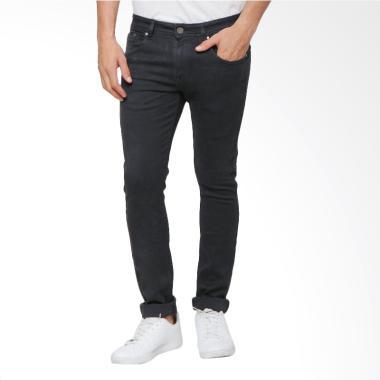 Boy London Slim Fit Celana Jeans Pria - Dark Grey
