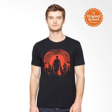 Star Wars Rogue One Orbit T-Shirt Pria - Black