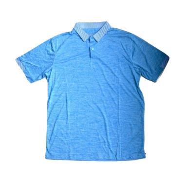 Ping Tai Fu Shi Polo Pakaian Fitness Pria - Biru Muda [P026#]