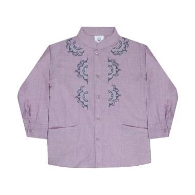 MacBear Kids Ahmad Atasan Koko Baju Anak - Purple