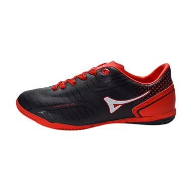 Ardiles Men Primeknit Sepatu Futsal Pria - Hitam Merah