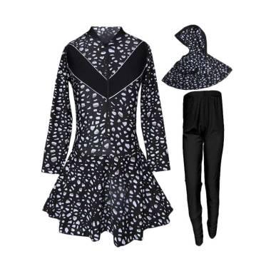 Rainy Collections Motif Bercak Baju ...  Muslim - Putih [Size TK]