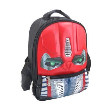 DJ Fashion 0605 3D Backpack Tas Sekolah Anak Laki Laki [13 Inch]