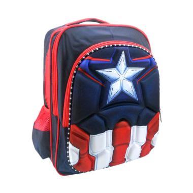 DJ Fashion 0611 3D Backpack Tas Sekolah Anak Laki-laki [16 Inch]