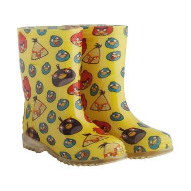AP BOOTS Burung Angry Bird Sepatu Boots Anak Unisex - Kuning
