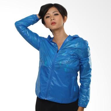 Reebok LTHS Windbreaker Women Jacket Olahraga Wanita - Blue [AJ3373]