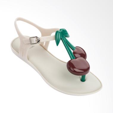 Melissa Solar Cherry Sandal Waniat - White
