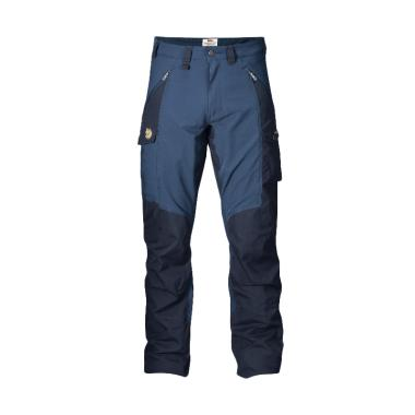 Fjallraven Abisko Trousers Celana T ... a -  Blue Navy [Original]