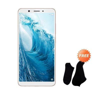 VIVO Y71 Smartphone - Gold [32 GB/3 GB] + Free Kaos Kaki 7 Pasang