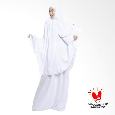 OEM Polos Premium Mukena - Putih