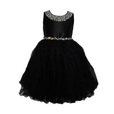 VERINA BABY Tutu Variasi Sequin Dress Pesta Anak - Hitam