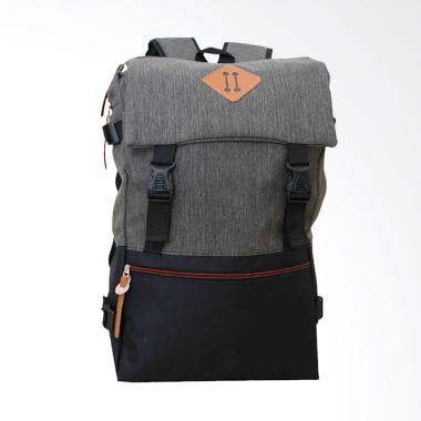 OEM Distro Backpack Tas Ransel Pria - Abu