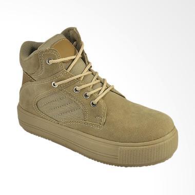 JAVA SEVEN MTS 002 Sepatu Boots Wanita - Krem